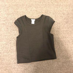 sally miller black cute top, top to set